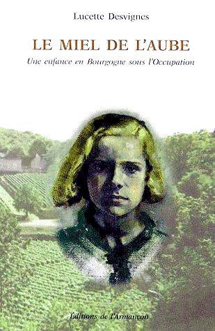 Le Miel de l'Aube (couverture)