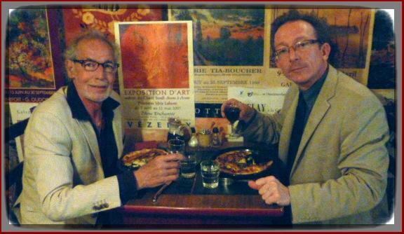 Avec Christian Bilodeau