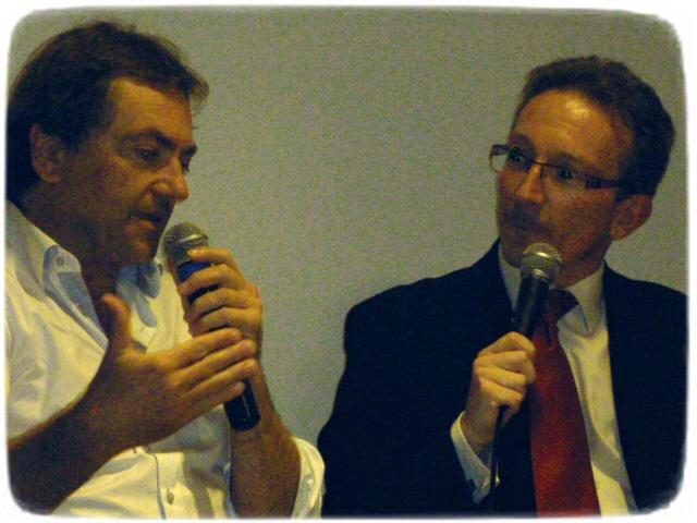Didier VAN CAUWELAERT et Y. PETIT