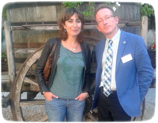 Isabelle SAPORTA et Y. PETIT