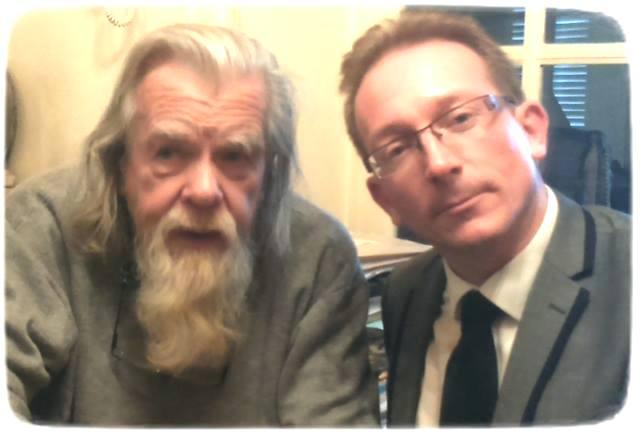 Michael LONSDALE et Y. PETIT