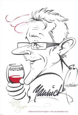 Caricature par Patrick Grillot