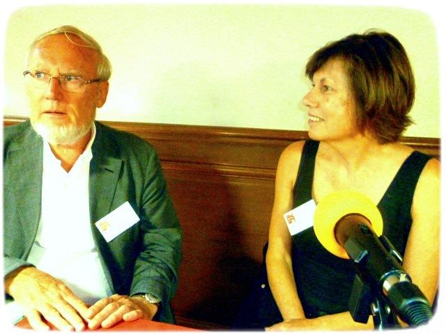 Mme Roze et Jean Lacoste