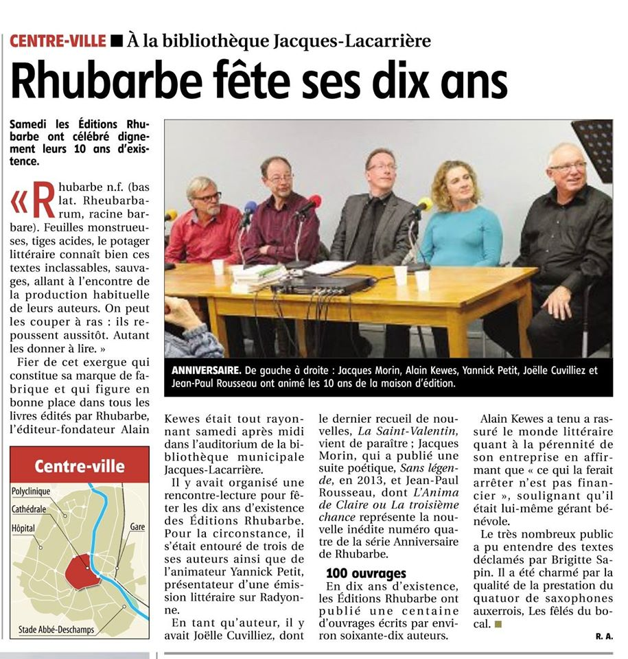 Rhubarbe fête ses dix ans
