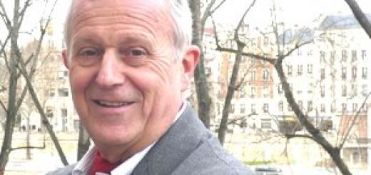 Frédéric Vitoux, écrivain. Janvier 2012.