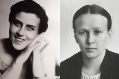 Rosalie et Marie Romain ROLLAND.