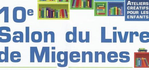 10ème salon du Livre de Migennes.
