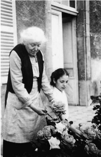 Marie Noël et sa nièce Danièle